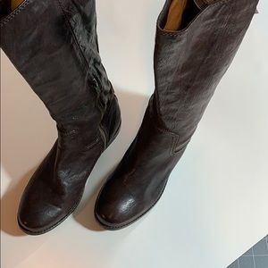 Frye Boots Brown Woman's Size 7